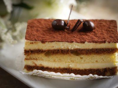 Tiramisu Individual Cake