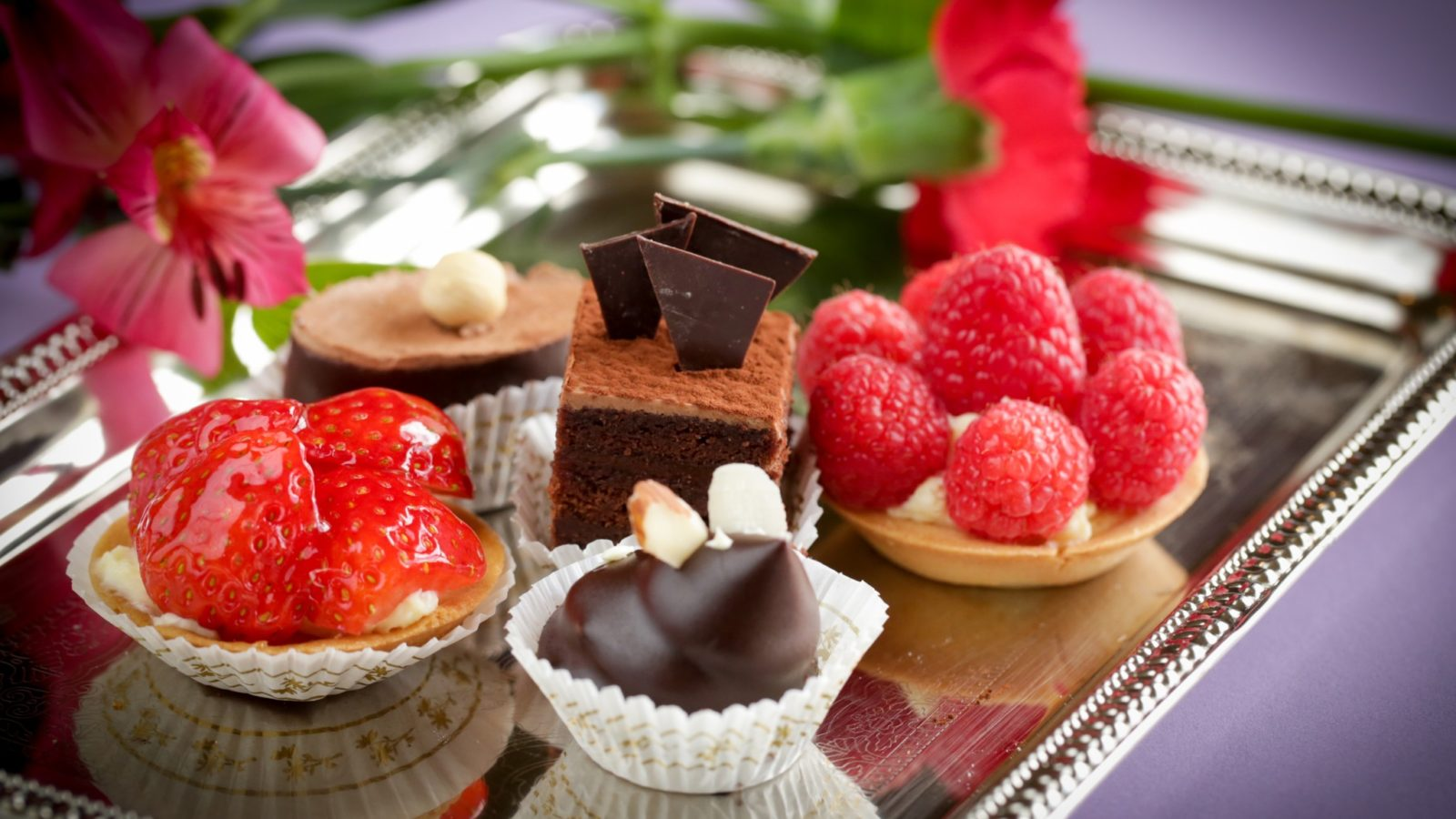 Bite-Sized Desserts and Pastries